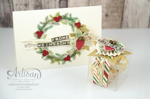 Stampin´ Up! - Artisan Design Team - Weihnachtsset - Peace this Cristmas - Labeler Aphabet - Besonderes Designerpapier Für Weihnachten - 1