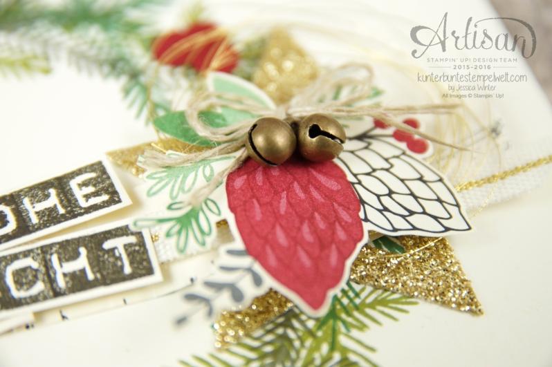 Stampin´ Up! - Artisan Design Team - Weihnachtsset - Peace this Cristmas - Labeler Aphabet - Besonderes Designerpapier Für Weihnachten - 5