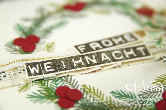 Stampin´ Up! - Artisan Design Team - Weihnachtsset - Peace this Cristmas - Labeler Aphabet - Besonderes Designerpapier Für Weihnachten - 3