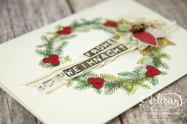 Stampin´ Up! - Artisan Design Team - Weihnachtsset - Peace this Cristmas - Labeler Aphabet - Besonderes Designerpapier Für Weihnachten - 6