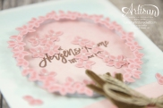 Stampin´ Up! - Wald der Worte - Thoughtful Branches - Artisan Blog Hop - 8