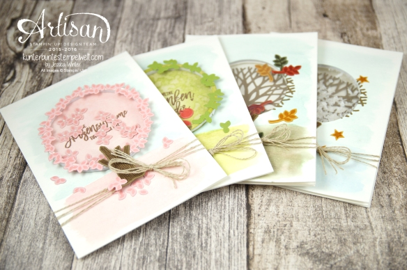 Stampin´ Up! - Wald der Worte - Thoughtful Branches - Artisan Blog Hop - 9