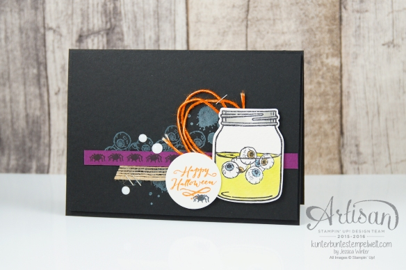Stampin´ Up! - Artisan Design Team - Jar of Haunts - Gorgeous Grunge - 1
