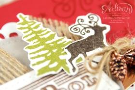 Stampin´ Up! - Artisan Blog Hop - Grüße vom Weihnachtsmann -Framelitsformen Stickmuster - 3