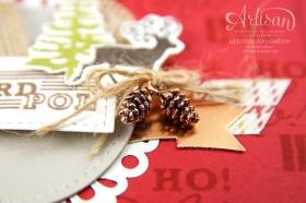 Stampin´ Up! - Artisan Blog Hop - Grüße vom Weihnachtsmann -Framelitsformen Stickmuster - 4