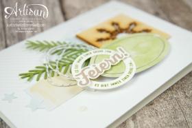 Stampin´ Up! - Artisan Blog Hop - Projektset Drauf und Dran - Nette Etiketten - Besonderes Designerpapier Eisfantasie - 7