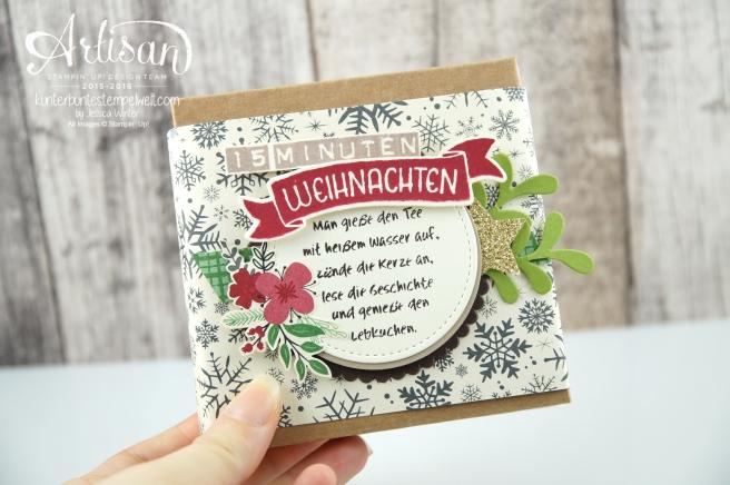 Stampin´ Up! - 15 Minuten Weihnachten - besonderes Designerpapier für Weihnachten - Labeler Alphabet - Grüße rund ums Jahr - 1