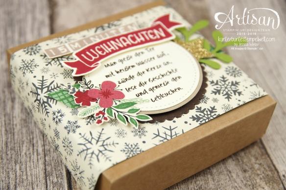 Stampin´ Up! - 15 Minuten Weihnachten - besonderes Designerpapier für Weihnachten - Labeler Alphabet - Grüße rund ums Jahr - 2