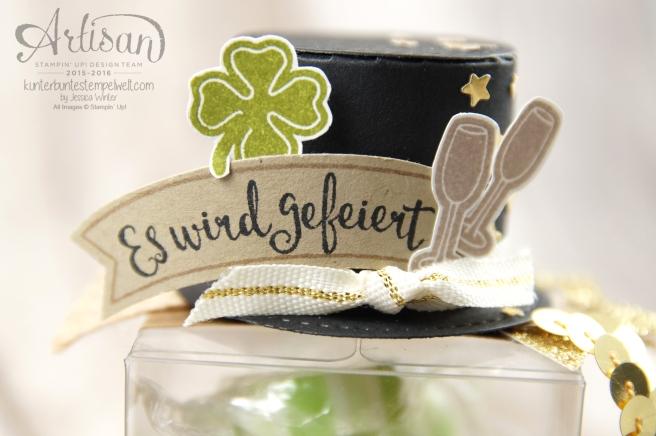 Stampin´ Up! - Artisan Design Team - es wird gefeiert - transparente Mini-Geschenkschachtel - 4