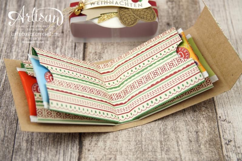 Stampin´ Up! - besonderes Designerpapier für Weihnachten - Elementstantze Adventschmuck - Thinlitsformen Tannen und Zapfen - 4