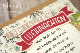 Stampin´ Up! - 15 Minuten Weihnachten - besonderes Designerpapier für Weihnachten - Labeler Alphabet - Grüße rund ums Jahr - 4