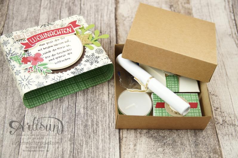 Stampin´ Up! - 15 Minuten Weihnachten - besonderes Designerpapier für Weihnachten - Labeler Alphabet - Grüße rund ums Jahr - 6