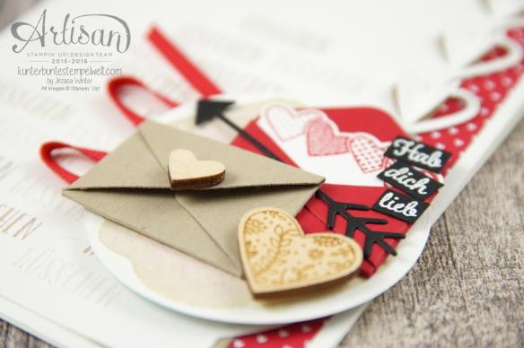 Stampin´ Up!-Artisan Design Team-Mit Gruß und Kuss-Framelits Formen Liebesgrüße-Designerpapier im Block Liebe Grüße-5