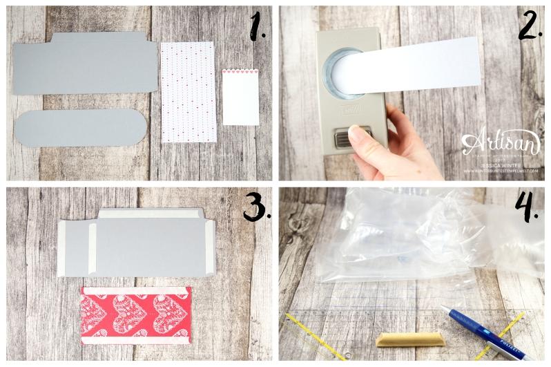 Stampin´ Up!-Mit Gruß und Kuss-Framelitsformen Liebesgrüße-Designerpapier im Block Liebe Grüße- Mini Mail Box-Anleitung-6