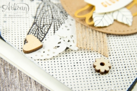 Stampin´ Up - Li(e)belleien -THinlitsformen Libelle - Accessoires Liebe Grüße - Besonderes Designerpapier Unvergleichlich Urban - 4