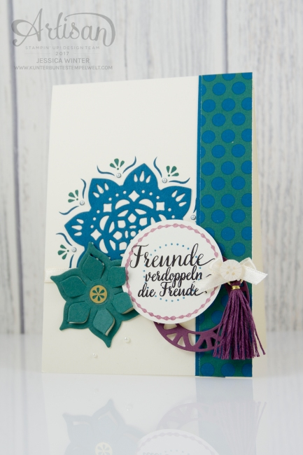 Stampin up - Artisan Design Team - Schönheit des Orients - In Color 2017-2019 - 1