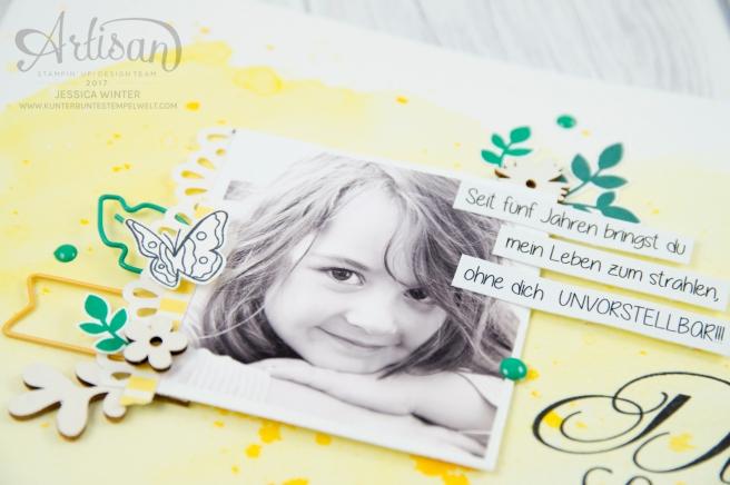 Stampin´ Up! - Für Freunde - Etwas Süßes - Akzente aus der Natur - Papierclips - Scrapbooking - 2