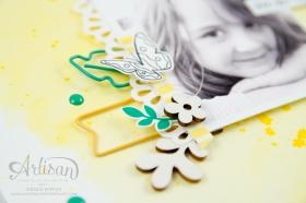 Stampin´ Up! - Für Freunde - Etwas Süßes - Akzente aus der Natur - Papierclips - Scrapbooking - 3