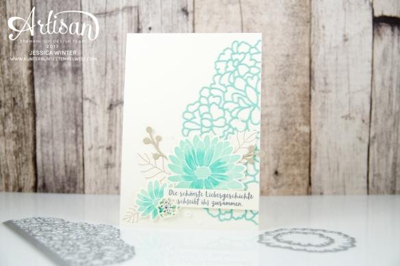 Stampin´ Up! - Framelitsformen Blütenkreation - Besondere Grüße - Thinlitsformen Liebe zum Detail - 1