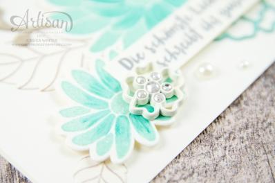 Stampin´ Up! - Framelitsformen Blütenkreation - Besondere Grüße - Thinlitsformen Liebe zum Detail - 5