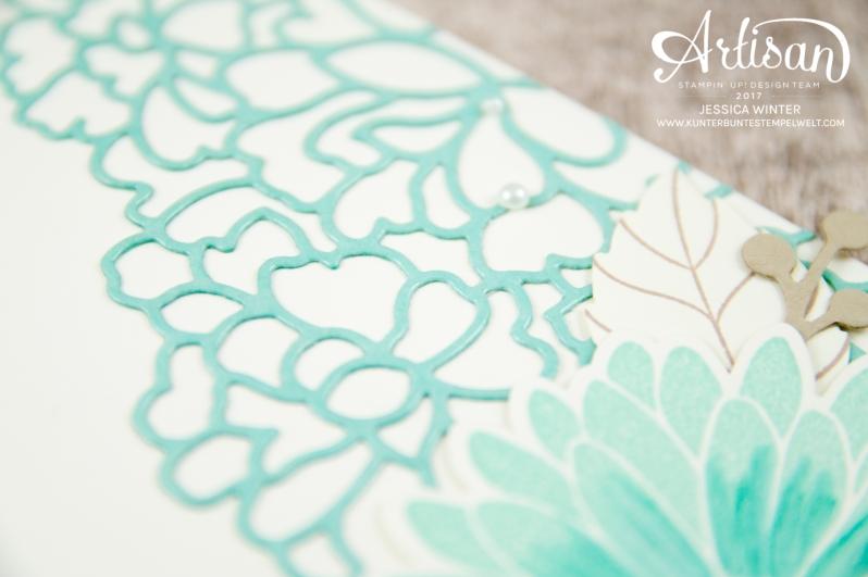Stampin´ Up! - Framelitsformen Blütenkreation - Besondere Grüße - Thinlitsformen Liebe zum Detail - 2