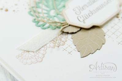 Stampin´ Up! - Besondere Grüße - Framelits Formen Blumenkreationen - Delicate Details - Timeless Textures - 4