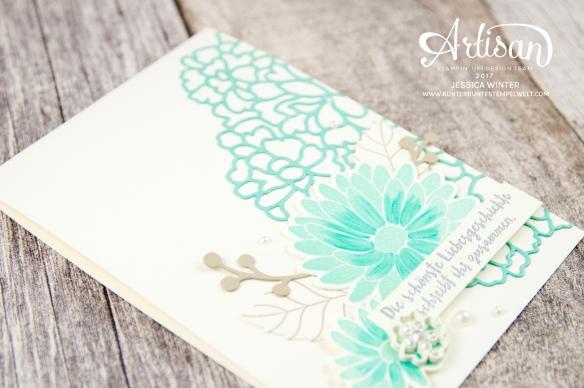 Stampin´ Up! - Framelitsformen Blütenkreation - Besondere Grüße - Thinlitsformen Liebe zum Detail - 6