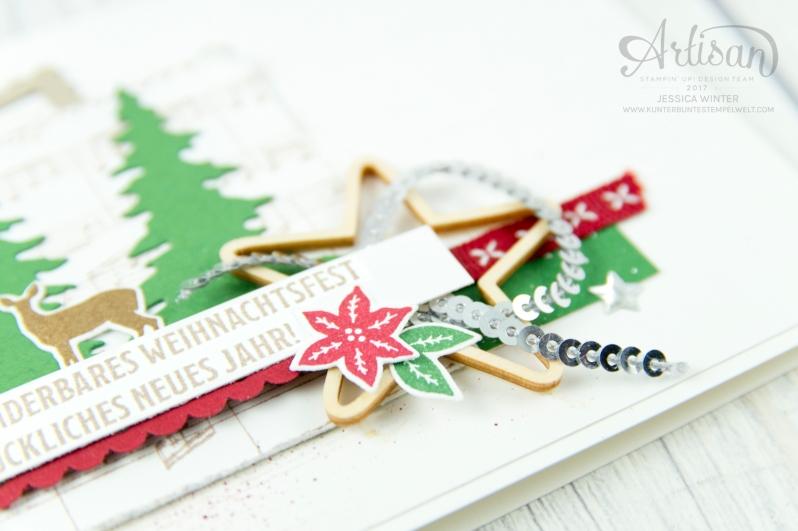 Stampin´ Up! - Artisan Design Team - Wie ein Weihnachtslied - Frmelitsformen Festtagsdesign - Acessoires Herzen & Sterne - 3