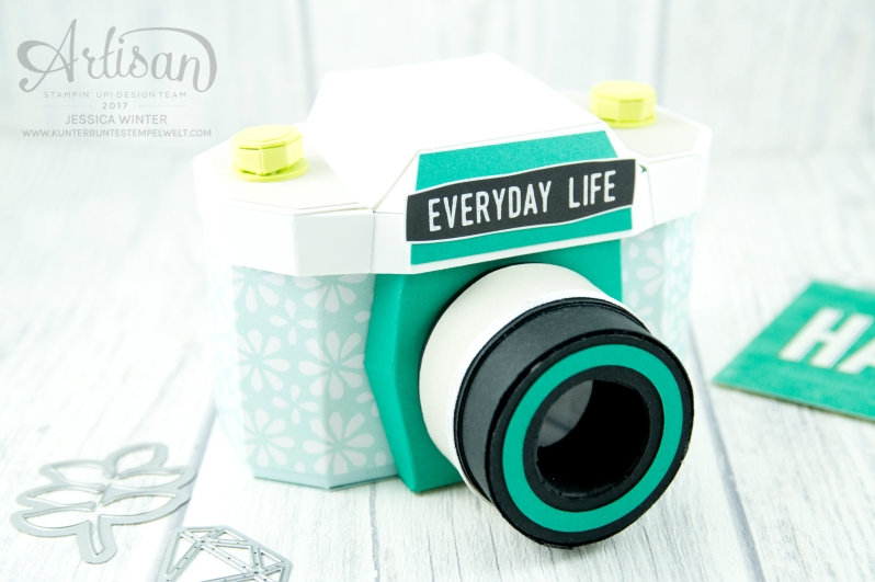 Stampin´ Up! - Materialpaket - Papier Kamera - Minialbum - Verpackung - 2