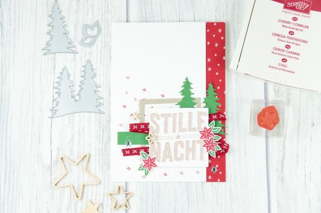 Stampin´ Up! - Artisan Design Team - Wie ein Weihnachtslied - Frmelitsformen Festtagsdesign - Acessoires Herzen & Sterne - 5