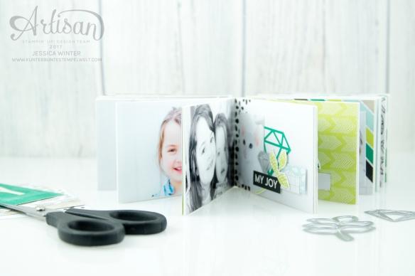 Stampin´ Up! - Materialpaket - Papier Kamera - Minialbum - Verpackung - 3