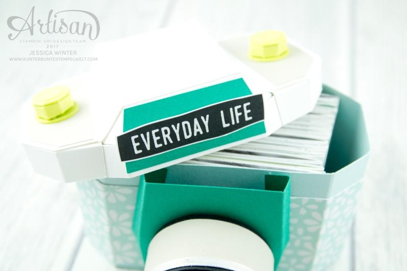 Stampin´ Up! - Materialpaket - Papier Kamera - Minialbum - Verpackung - 5