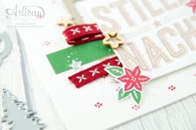 Stampin´ Up! - Artisan Design Team - Wie ein Weihnachtslied - Frmelitsformen Festtagsdesign - Acessoires Herzen & Sterne - 8