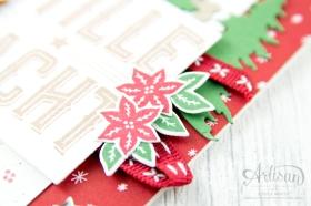 Stampin´ Up! - Artisan Design Team - Wie ein Weihnachtslied - Frmelitsformen Festtagsdesign - Acessoires Herzen & Sterne - 7