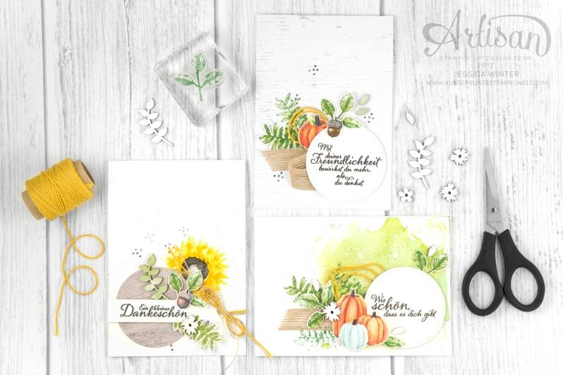 Stampin´ Up!_Artisan Design Team_Herbstanfang_Stanze Blätterzweig_Designerpapier Herbstimpressionen_1