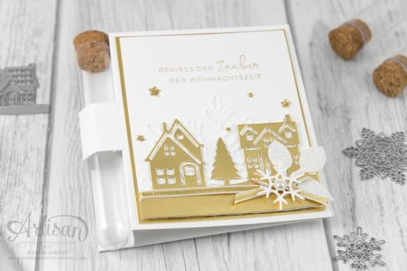 Stampin´ Up!_Weihnachten daheim_Prägeform Schneekristall_Süßigkeitenröhrchen_1