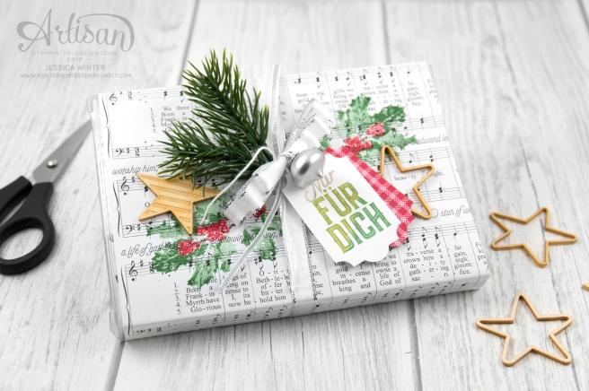 Stampin´ Up! _ Harmonische Feiertage _ Acetatschachteln für Karten _ Weihnachtliche Etiketten _Akzente Herzen und Sterne _1