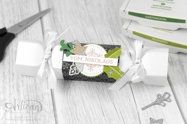 Stampin´ Up!_ besonderes Designerpapier Weihnachtslieder_Produktpaket Gut Geschmückt_Knallbonbon_Anleitung_Fröhliche Weihnachten_1