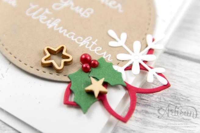 Stampin´ Up! _ Designerpapier Weihnachtsquilt _ Weihnachtsquilt _ Framelits Formen Quilt _ bestickete Filz Accessoires _2