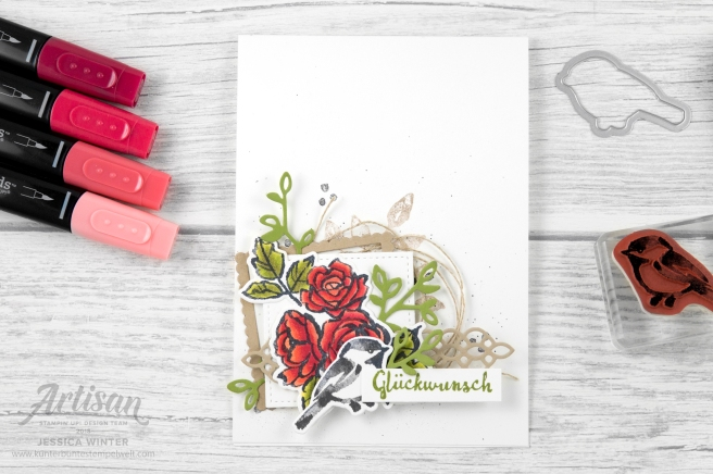 Stampin´ Up! _ Bloh Hop _ stampstories _ Blütenfantasie _ Blends _ 1