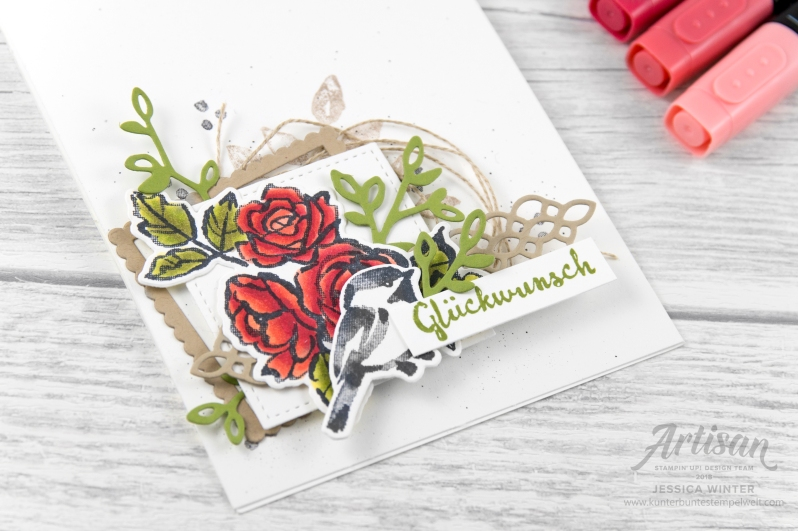 Stampin´ Up! _ Bloh Hop _ stampstories _ Blütenfantasie _ Blends _ 2