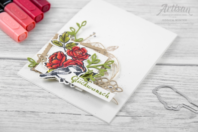 Stampin´ Up! _ Bloh Hop _ stampstories _ Blütenfantasie _ Blends _ 3