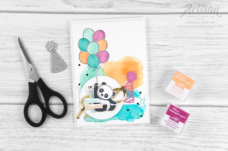 stampin up _ party pandas _ produktpaket grund zum feiern _ aqua painter- aquarell hintergrund _ 5