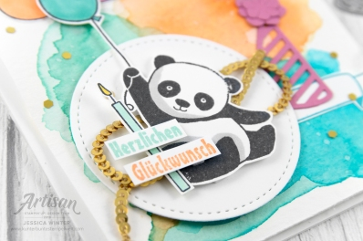 stampin up _ party pandas _ produktpaket grund zum feiern _ aqua painter- aquarell hintergrund _ 6