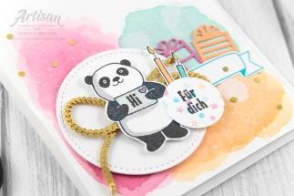 stampin up _ party pandas _ produktpaket grund zum feiern _ aqua painter- aquarell hintergrund _ 9