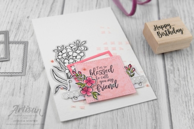 Stampin up _ southern serenade _ lagenweise quadrate _ 2