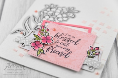 Stampin up _ southern serenade _ lagenweise quadrate _ 3