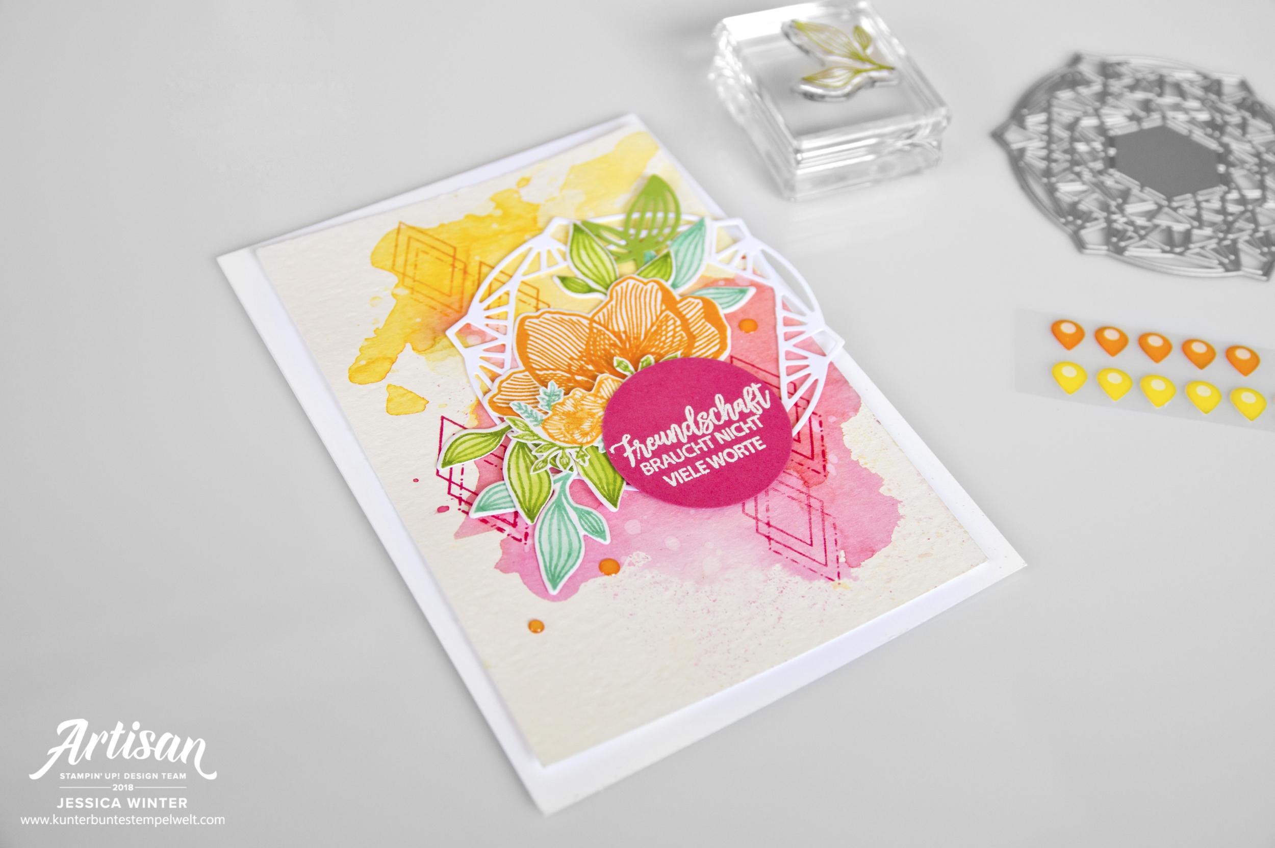 Stampin Up Artisan Blog Hop Blütenzauber Meine